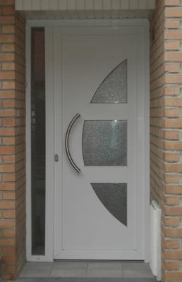 porte moderne Pvc Blanc