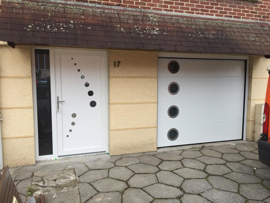 portes blanches originales