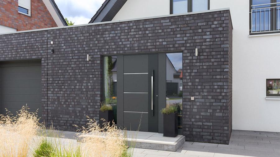 porte esthetique maison tres moderne