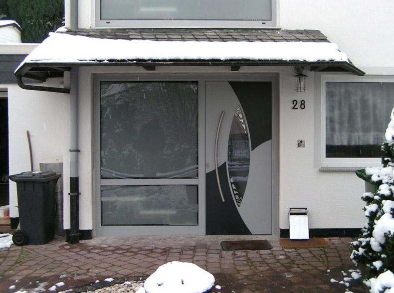 ouverture en hiver avec toiture