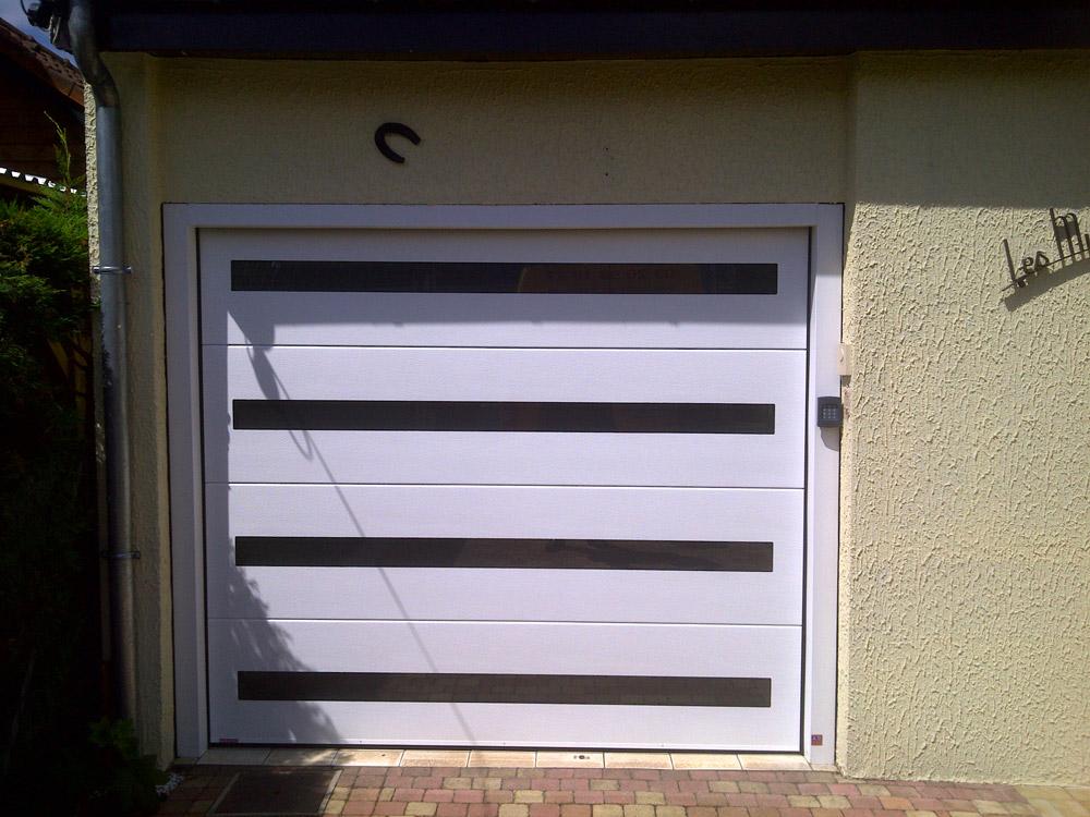 ouvertures embellie de garage avec electronique
