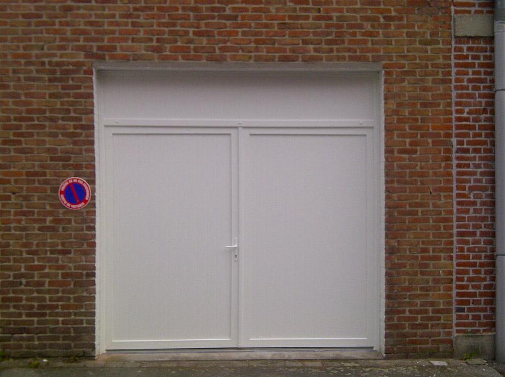 porte d'entrée de remise