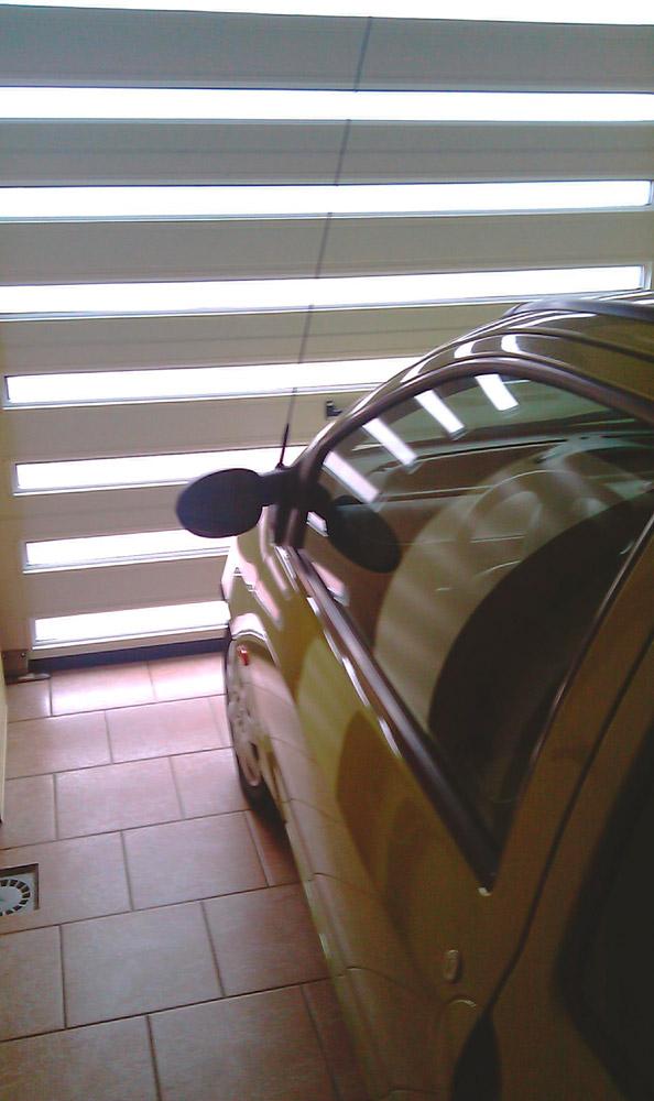 vue d'intérieur d'un garage