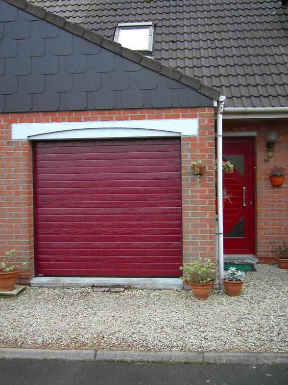 porte de garage de cité à Lille