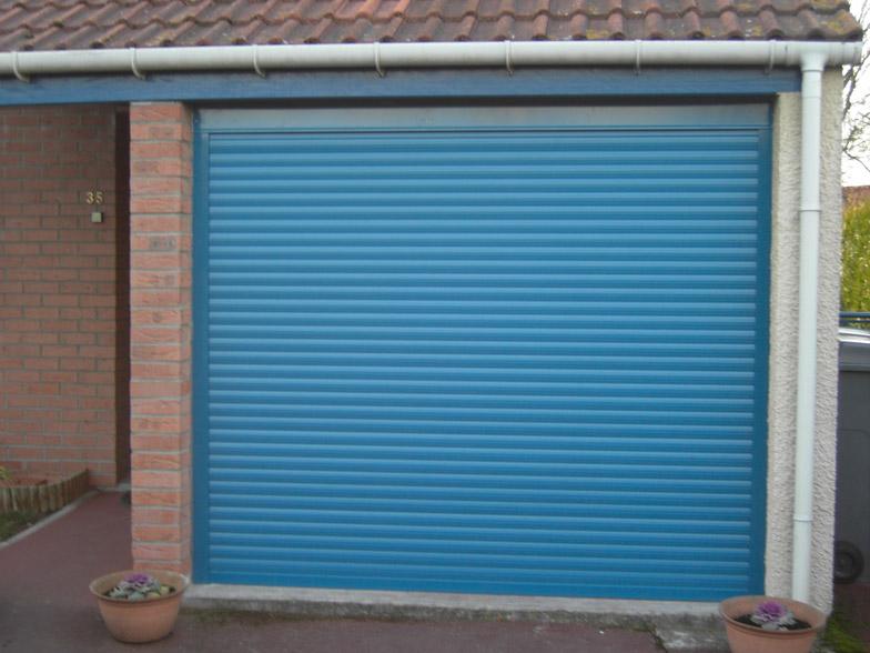 porte de garage plastique renforcé