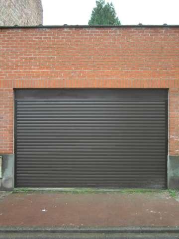 porte de garage déroulante