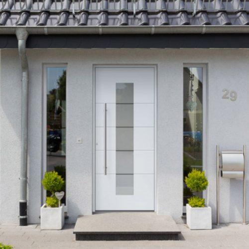 aménagement extérieur entrée de maison